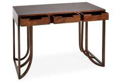 "Dax 45"" Desk, Acorn"