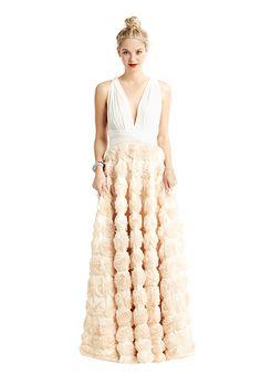 Brides.com: . Full ballgown rosette, $1,375, twobirds