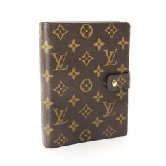Louis Vuitton Agenda MM Monogram Other Brown Canvas R20004