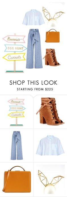 """Easter "" by canelobow ❤ liked on Polyvore featuring Gianvito Rossi, MSGM, Acne Studios, Mark Cross and WXYZ by Laura Wass"