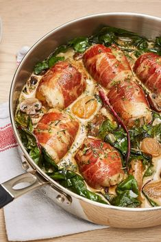 Chicken and Apricot Ballotine Recipe - Great British Chefs Turkey Recipes, Chicken Recipes, Dinner Recipes, Great British Chefs, Baked Chicken, Food Inspiration, The Best, Healthy Recipes, Savoury Recipes