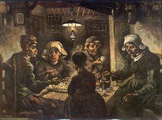 Van Gogh, de aardappeleters.