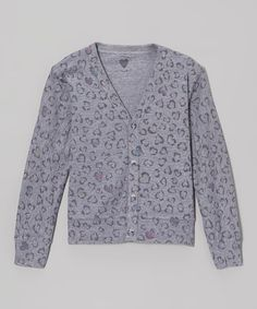 http://www.zulily.com/invite/vhanson979 Take a look at this Gray Hearts Cardigan - Toddler & Girls by A Little Love Couture on #zulily today!