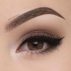 50 angesagtesten braunen Augen Make-up-Idee, die Sie für Abschlussball oder Par… 50 hottest brown eye makeup idea that you need to try for prom or party – 55 most sexy and asimple eye make-up tiThe ideal make-up for bl Cute Makeup, Pretty Makeup, Makeup Looks, Makeup Style, Cheap Makeup, Stunning Makeup, Perfect Makeup, Makeup Inspo, Makeup Inspiration