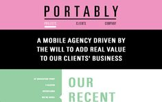 Home of the Swedish mobile agency Portably.