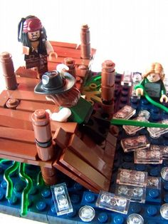 Pirates Of The Caribbean: Mermaid Attack!: A LEGO® creation by --R.K. Blast-- : MOCpages.com