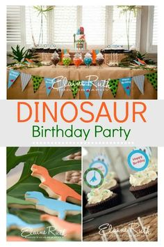 An amazing dinosaur birthday party. It features awesome ideas for a cake and decorations that the boys are going to love. This is a super fun party theme that will inspire you to create your own Jurassic party. Dinosaur Birthday Cakes, 3rd Birthday Cakes, Baby Boy First Birthday, Dinosaur Party, 3rd Birthday Parties, Birthday Ideas, Birthday Fun, Kid Parties, Theme Parties
