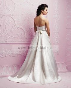Gown 4253 | 2012 Spring Collection | Paloma Blanca (back)