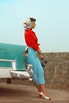 50's outfit. Love it!!! I would definitely wear it now!