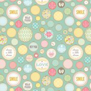 Novelty Quilt Fabric- Dream A Little Dream