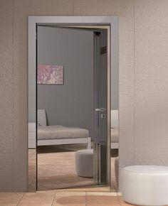 Znalezione obrazy dla zapytania drzwi z lustrem