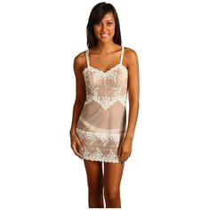 Wacoal Embrace Lace Chemise Women's Lingerie and other apparel, accessories and trends. Browse and shop related looks.