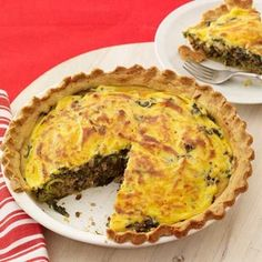 Beef and Spinach Pie | Easy Recipes for Ground Beef | AllYou.com Mobile