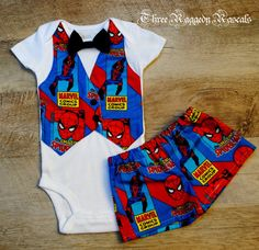 Spider Man Outfit by ThreeRaggedyRascals