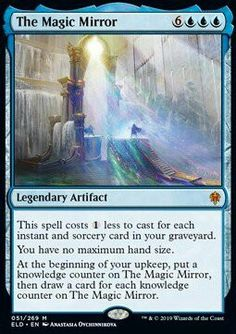 Well, despite Indrelon being a named and sentient character, looks like he isn't a legendary creature - iFunny :) Magic The Gathering Sets, Mtg Decks, Legendary Creature, Magic Mirror, Magic Cards, Wizards Of The Coast, Popular Memes, Spelling, Fun Facts