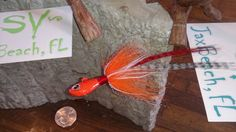 2-4oz  Ult Minnow 8/0 mustad w/ prism eyes bucktail and synthetic trailers w/ matching flash