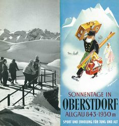 Ortsprospekt Winter 1955/56