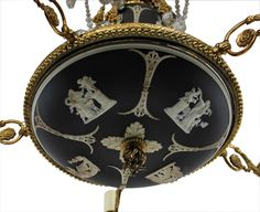 A Signed and Rare Wedgwood Jasperware Chandelier at 1stdibs