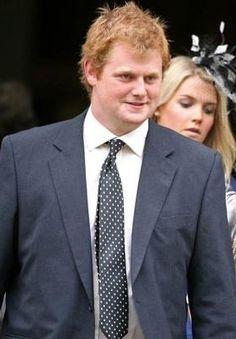 George Edmund McCorquodale, son of Princess Diana's sister, Sarah.