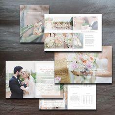 Wedding Magazine Template by Bittersweetdesignboutique on @creativemarket