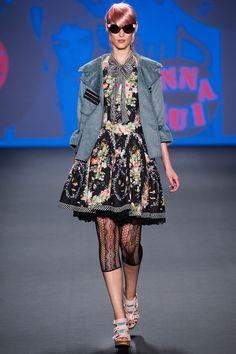 Anna Sui Spring 2013 Ready-to-Wear Fashion Show - Franzi Mueller