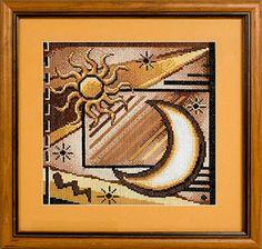 """Вышивалка 刺繍: Скачать схему вышивки """"Panna"""" Ф-131 «Солнце»"""
