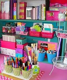 Pretty stationary always makes your office a much nicer place to work!