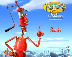 Watch Streaming HD Robots, starring Ewan McGregor, Halle Berry, Mel Brooks, Robin Williams. In a robot world, a young idealistic inventor travels to the big city to join his inspiration's company, only to find himself opposing its sinister new management. #Animation #Adventure #Comedy #Family #Romance #Sci-Fi http://play.theatrr.com/play.php?movie=0358082
