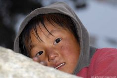 Girl in the village of Khumjung, Nepal
