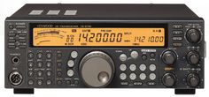Kenwood TS-570DG HF DSP Transceiver. I hope to buy one day.