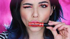 #EsDeBunnies enamorarse de tu #lipstick mate y usarlo como sombra  busca el link del #tutorial en mi Bio!  || When your #mattelipstick works perfect as shadow  . . . #mattelipstick #mexicanblogger #beautyguru #orange #bluehair #makeupjunkie #maquillaje