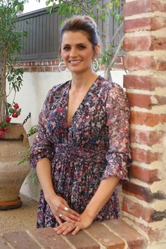 Stana Katic - Promotion for 'Absentia' at Hollywood Foreign Press Association - Jan 2018 Stunningly Beautiful, Most Beautiful Women, Beautiful People, Beautiful Celebrities, Beautiful Actresses, Stana Katic Hot, Kate Beckett, Great Tv Shows, Woman Crush