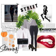 """Street style"" by freechoice on Polyvore http://catarina-freechoice.blogspot.pt/"
