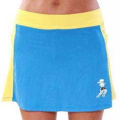 Surf Gold Athletic Skirt