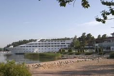 Naantali Spa Hotel - The hotel is a floating 140-room yacht hotel  #finland #naantali #europe #relax #hotel #accommodation #cruise #travel #traveltherenext
