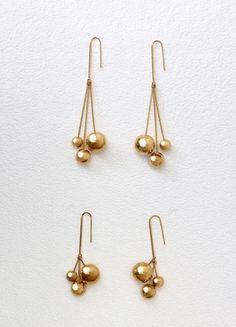 Bohême Perles or éléphant Dangle Ear Hoop Clip Boucles D/'oreilles Pendantes Fashion Jewelry