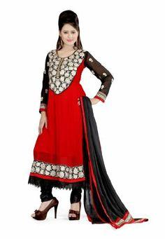 Fabdeal Indian Designer Georgette Red Embroidered Salwar Fabdeal, http://www.amazon.de/dp/B00IRB712E/ref=cm_sw_r_pi_dp_9y7otb1PSPSAV