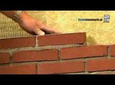 Hoe kun je zelf een (bakstenen) muur metselen? - Instructies - Weethetsnel.nl