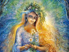 Lady Galadriel ~ Josephine Wall
