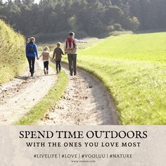 Spend time outdoors and in nature with the ones you love most. It's the small things in life that mean the most. Start creating your book of memories!