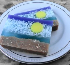 Soap Island Breeze Soap Made with Goats Milk by SoapGarden