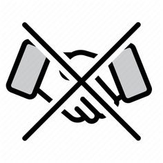 Deal Do Not Handshake Hands Handshake Handshaking Icon Download On Iconfinder Icon All Icon Vector Graphics