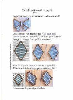 Бантик маленький французский | biser.info - всё о бисере и бисерном творчестве