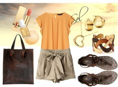 """sportive & chic"" by selenitabr on Polyvore"