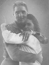 RARE PHOTO: Priscilla and Elvis' first photo taken together in Germany.