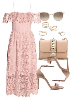 Sin título #12403 by vany-alvarado on Polyvore featuring polyvore, fashion, style, H&M, Yves Saint Laurent, Valentino, MANGO, Chopard and clothing