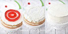 Tort śmietankowy z galaretką Vanilla Cake, Cheesecake, Cheesecakes, Cherry Cheesecake Shooters