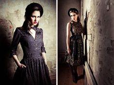 Qs Daydream: Lena Hoschek F/W 2012/13 Lookbook