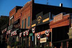 Old downtown Auburn California