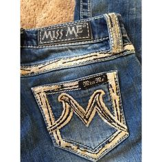Miss Me bootcut denim Good condition. Stretch. Miss Me Jeans Boot Cut